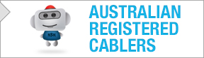Click here to access the Australian Registered Cablers website